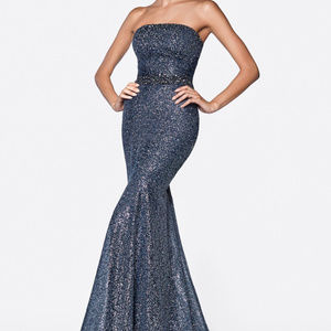 Starpless Sleeveless Evening Long Dress